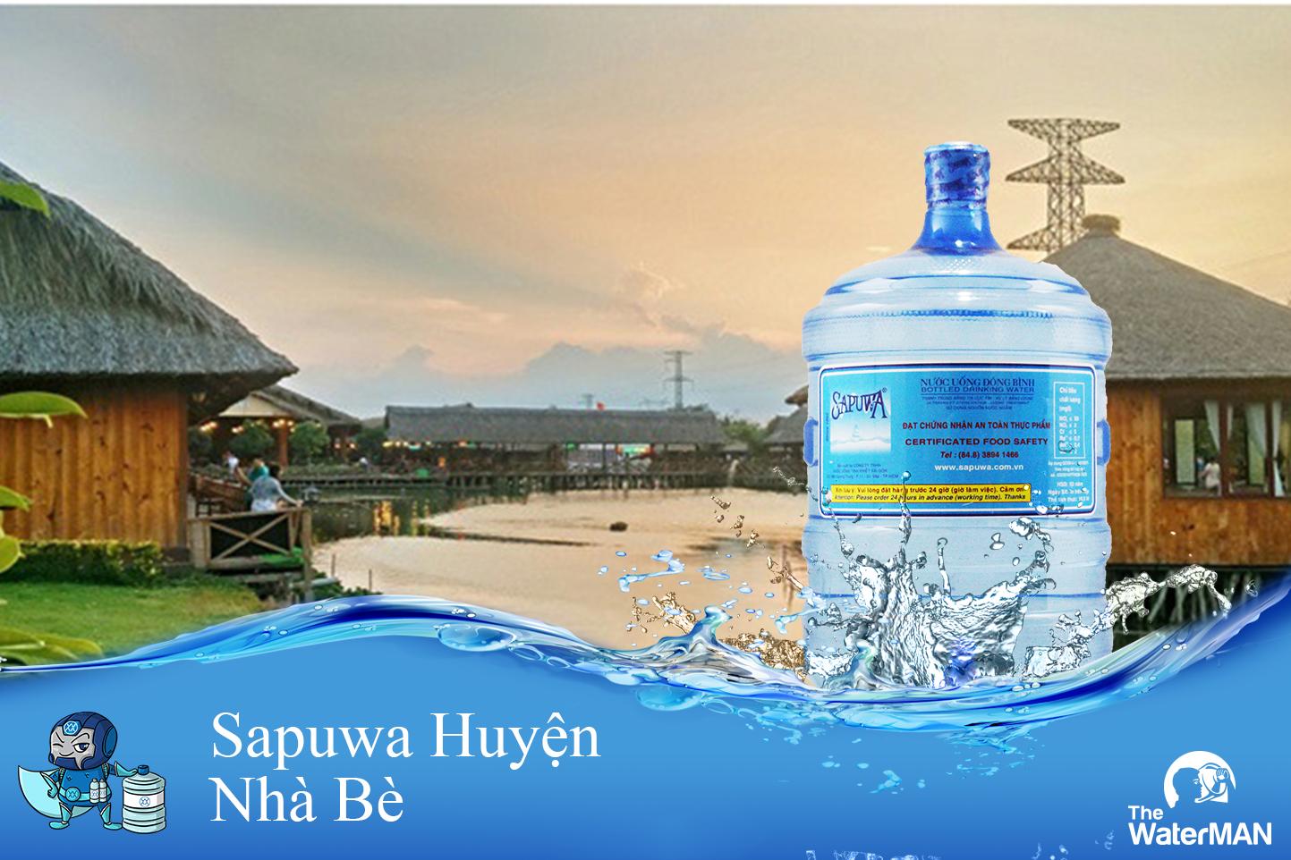 Đại Lý Nước Tinh Khiết Sapuwa Huyện Nhà Bè