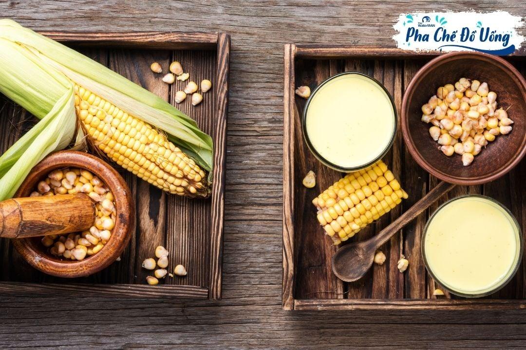 Công thức làm sữa bắp thơm ngon bổ dưỡng