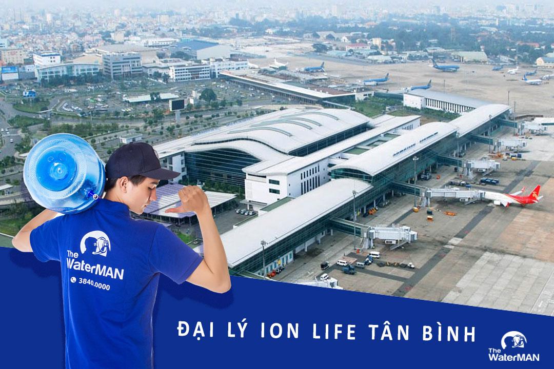Đại lý nước ion Life bình 19L, thùng nước đóng chai chính hãng ở Tân Bình