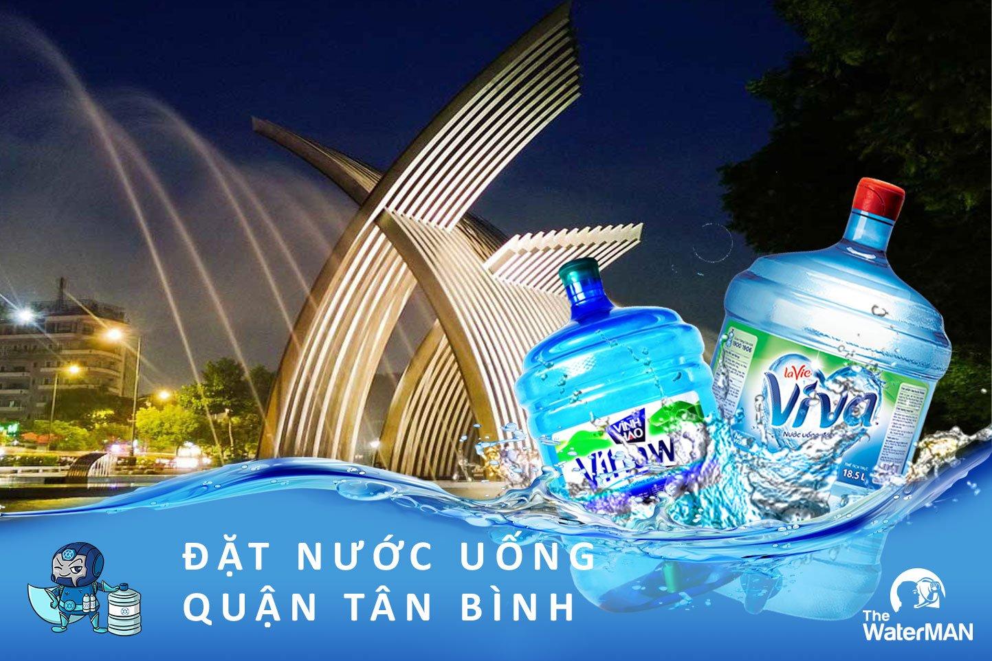 Cung cấp nước đóng bình sạch ở quận Tân Bình