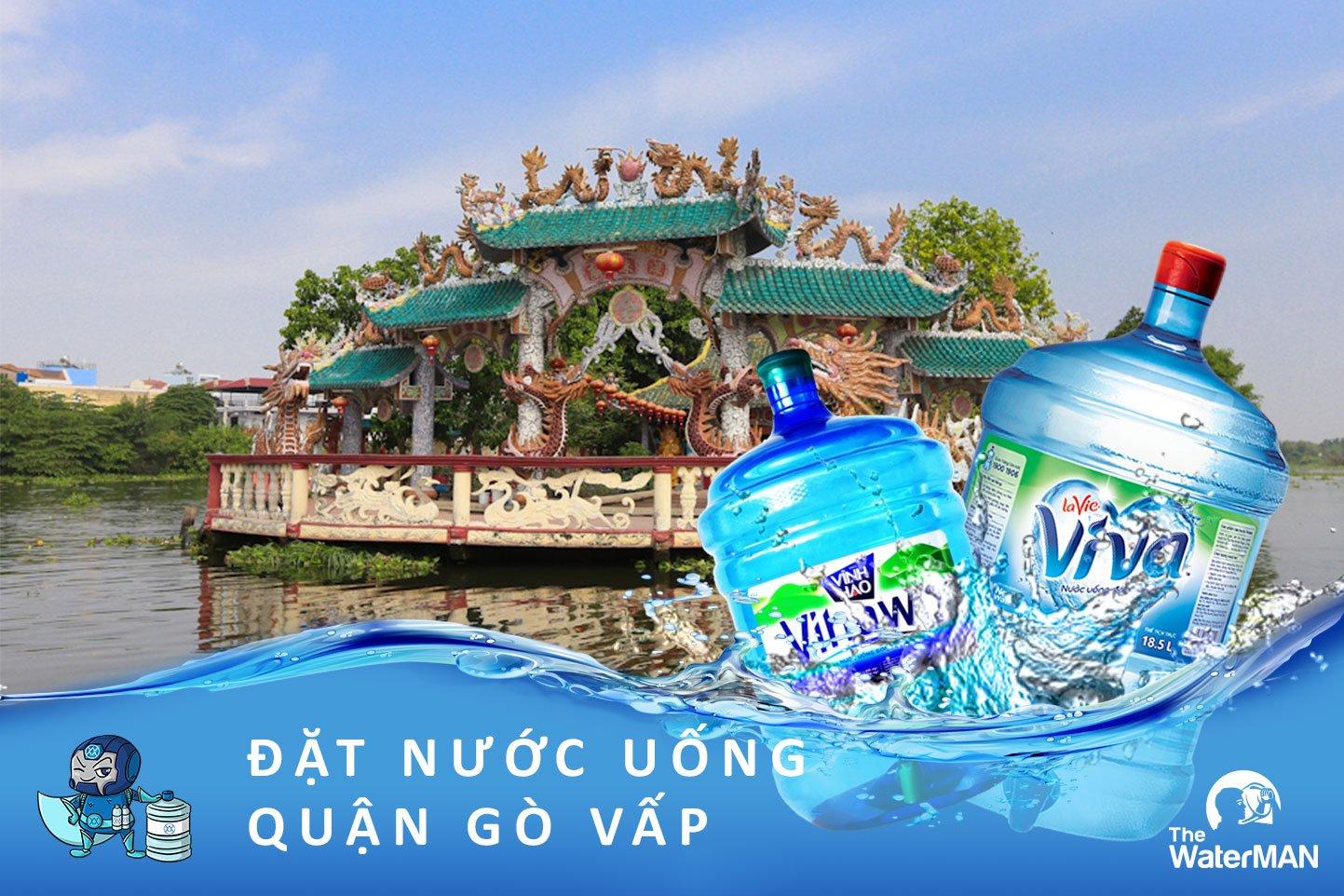 Đại lý giao nước uống đóng bình ở quận Gò Vấp