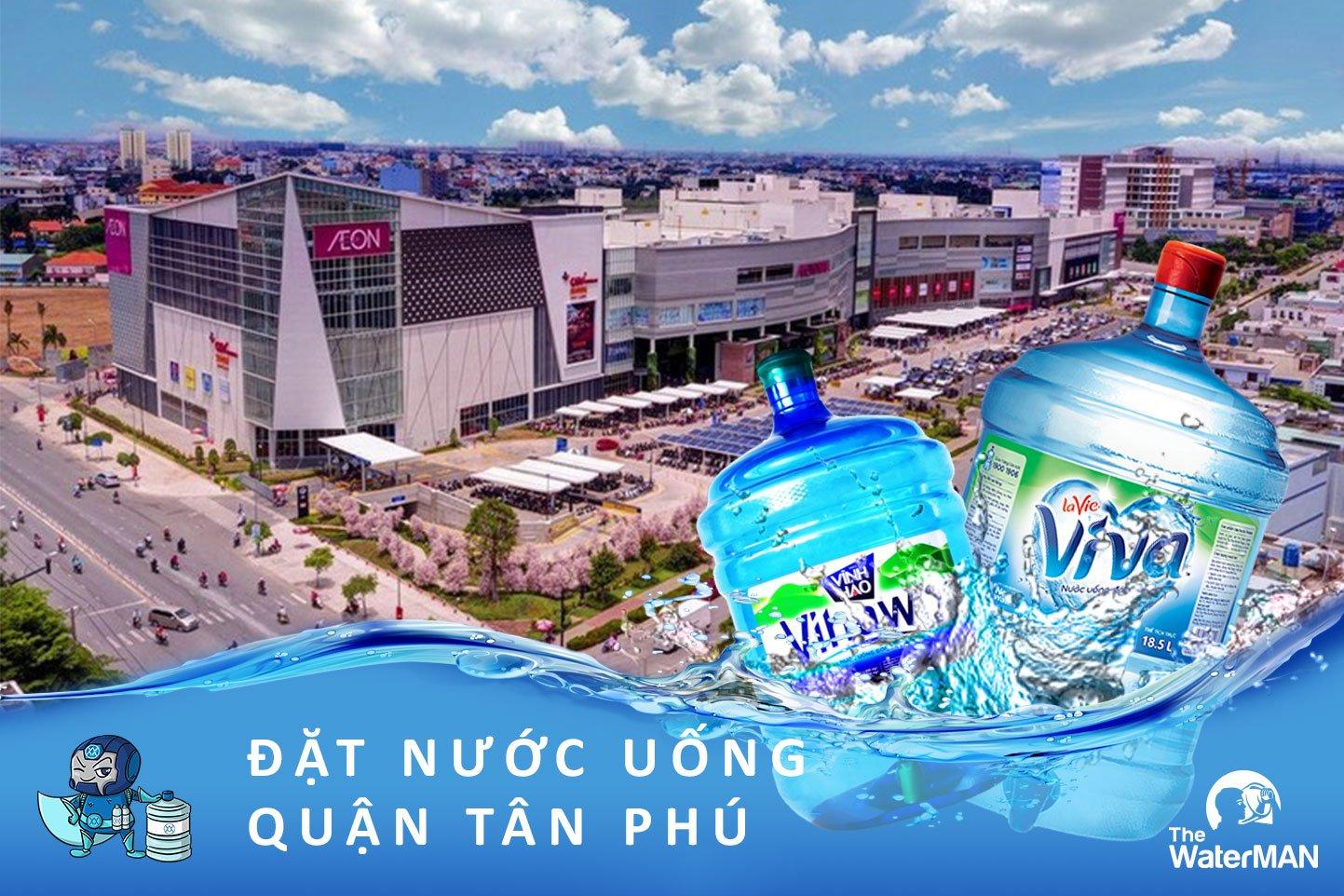 Đại lý nước uống đóng bình tại quận Tân Phú