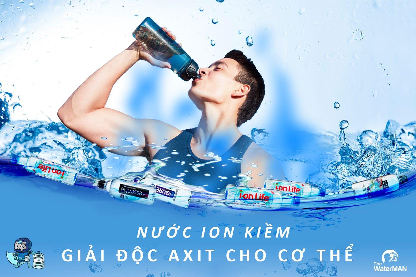 Trung hòa được axit dư, nước ion kiềm là cứu cánh của cơ thể bạn