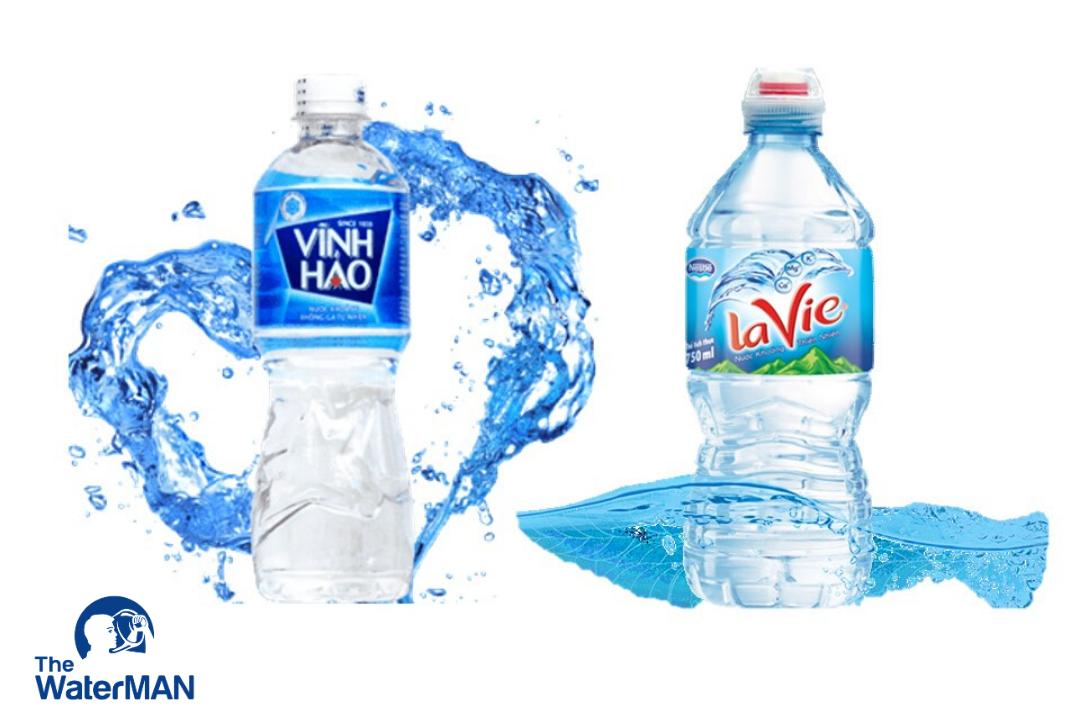 Nên chọn mua nước khoáng Vĩnh Hảo hay Lavie?