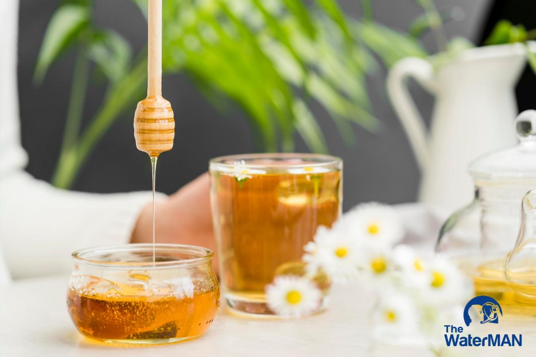Công thức làm trà xanh mật ong cực ngon, cực dễ