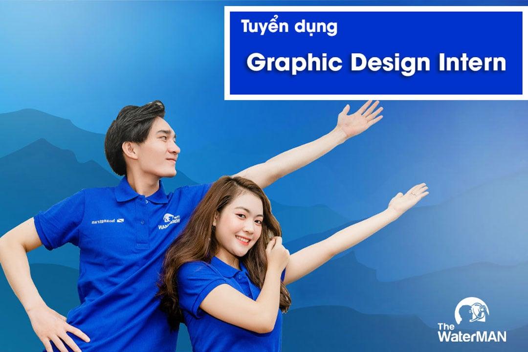Tuyển dụng Graphic Design Intern thu nhập 6 - 8 triệu
