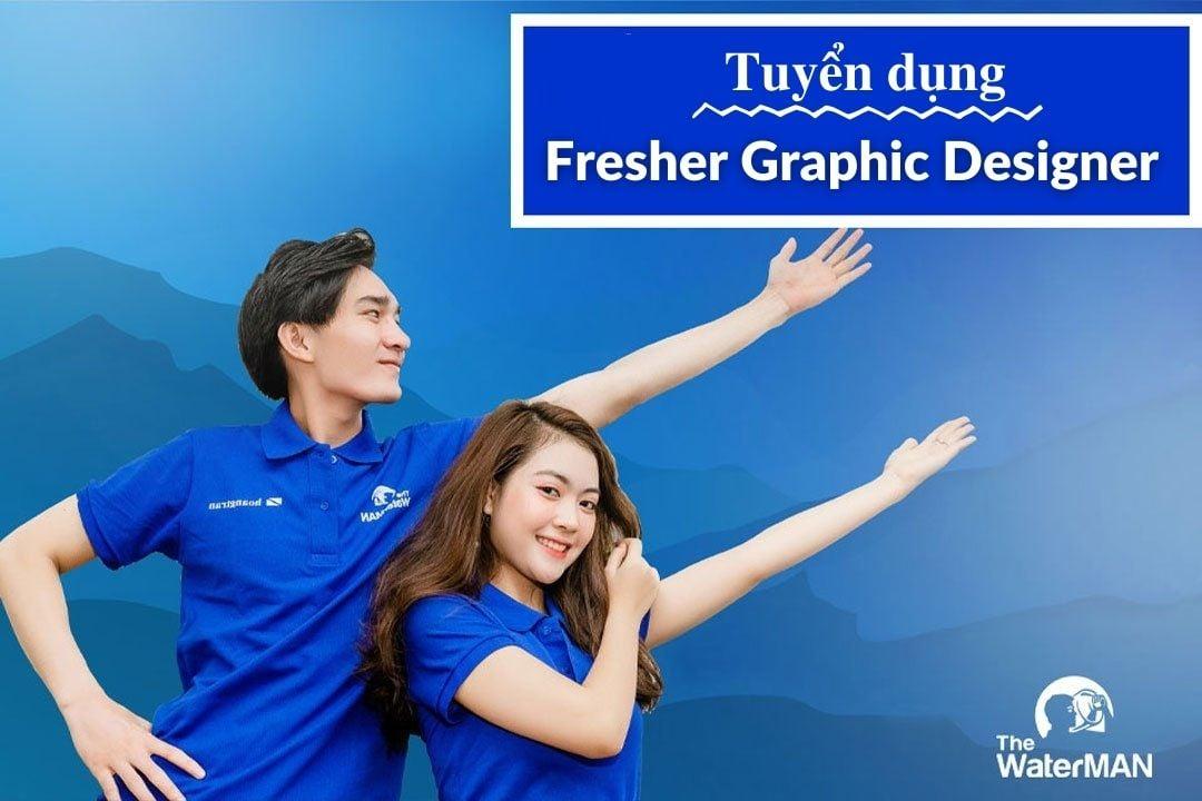Tuyển dụng Fresher Graphic Design Intern thu nhập 7 - 10 triệu