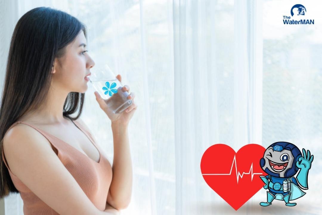 Đây là cách uống nước giúp hệ tim mạch của bạn luôn khỏe