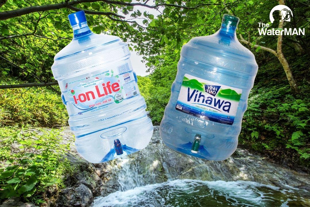 Có gì khác biệt giữa nước tinh khiết Vihawa và nước khoáng kiềm Ion-Life