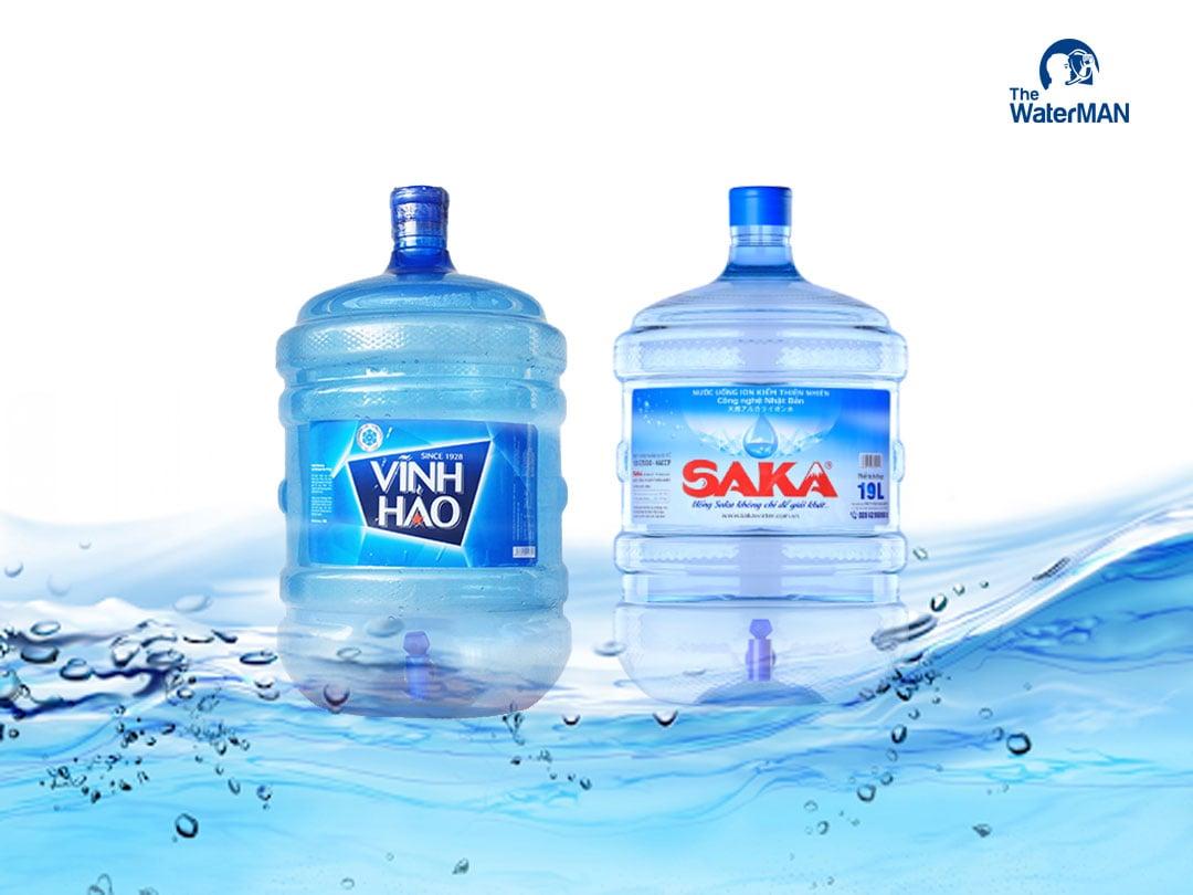 Nên chọn nước khoáng Vĩnh Hảo hay nước kiềm Saka?