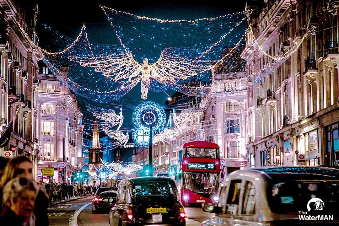 Anh quốc là một trong những nơi tổ chức Giáng sinh lớn