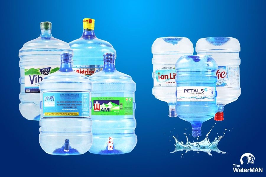 Giao nước uống đóng bình tận nơi ở Quận 3