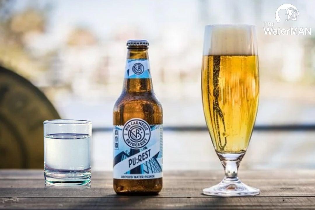 Nên uống nước tinh khiết trong khi uống bia