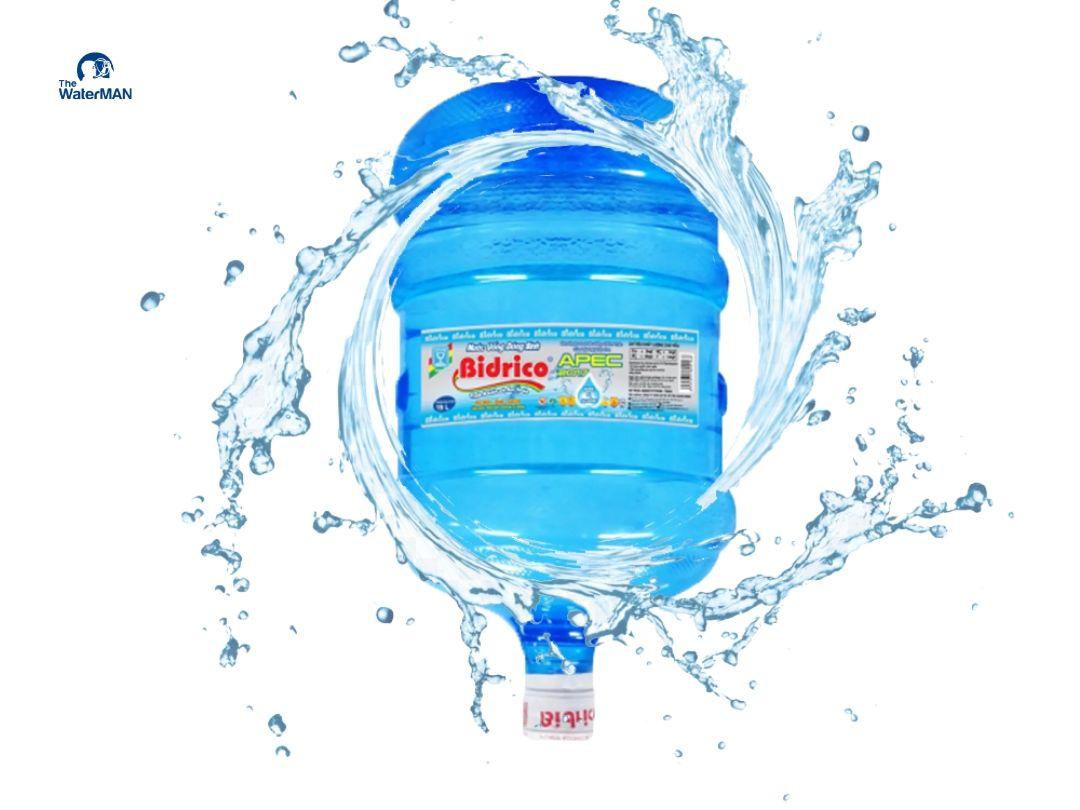 Nước bidrico bình 20L