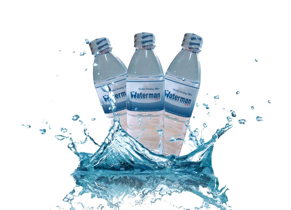 Nước tinh khiết Waterman chai 500ml