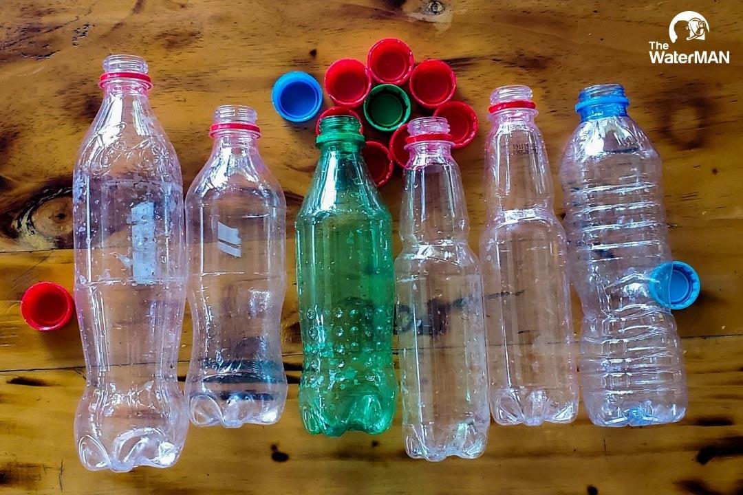 Tái sử dụng chai nhựa tiềm ẩn nguy cơ bệnh tật rất lớn