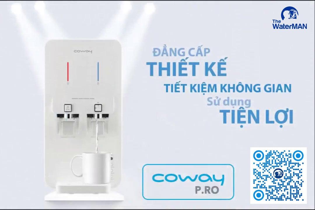Coway là thương hiệu máy lọc nước chất lượng hàng đầu tại Hàn Quốc, có dòng để bàn giúp bạn tiết kiệm tối đa không gian sống