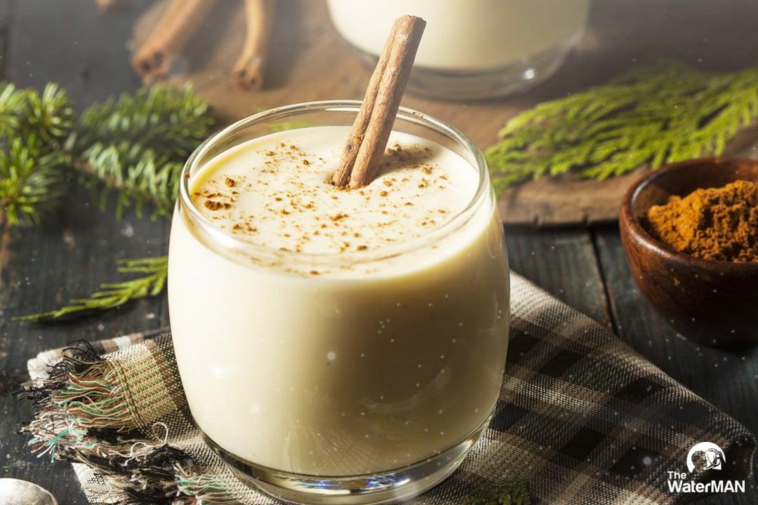Eggnog là thức uống truyền thống dịp Giáng sinh của người Anh