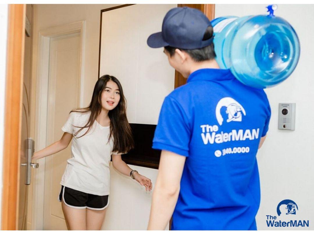 The Water MAN chuỗi giao nước tận nơi tại TPHCM