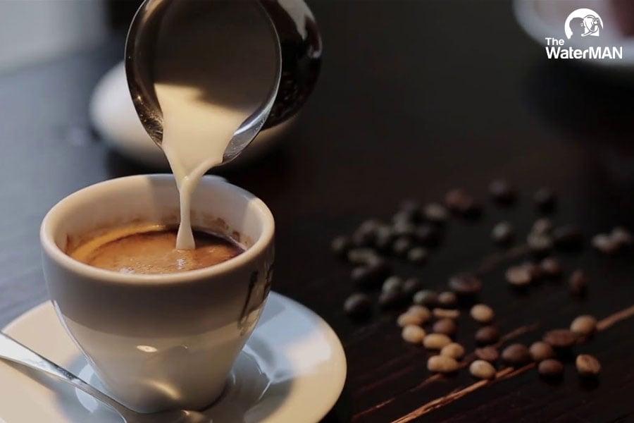 Tùy vào sở thích mọi thành viên, bạn hoàn toàn chủ động trong việc cân đối lượng sữa cho vào trà