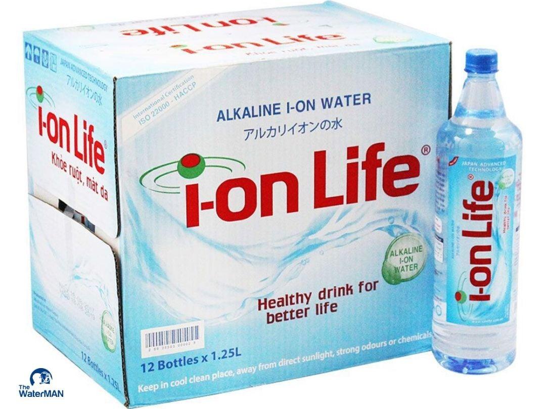 Nước đóng chai i-on Life 1.25L