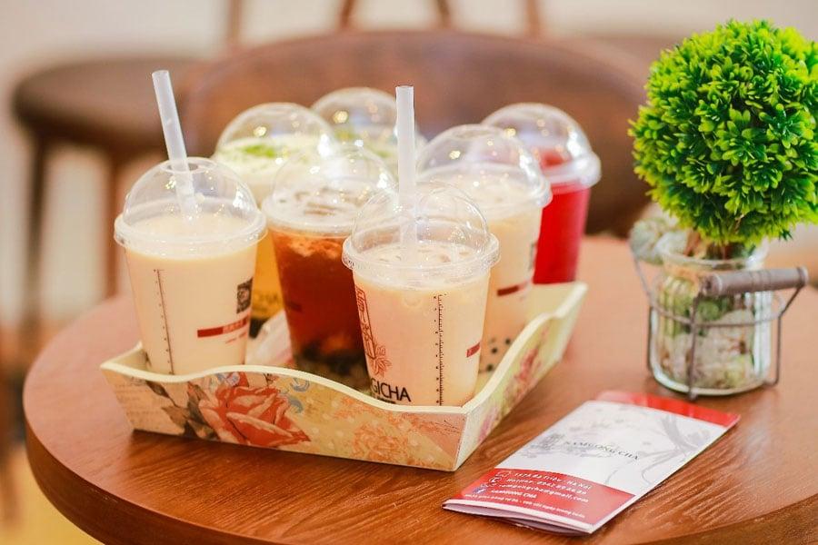 """Lục trà là loại trà sữa được """"biến tấu"""" từ trà sữa truyền thống"""