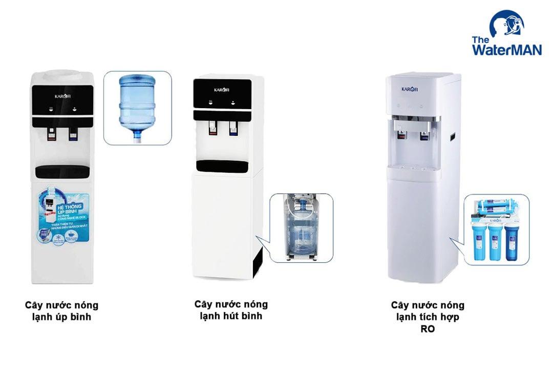 Máy nước nóng Karofi ứng dụng công nghệ làm lạnh Block giúp quá trình làm lạnh nhanh, tiết kiệm điện năng