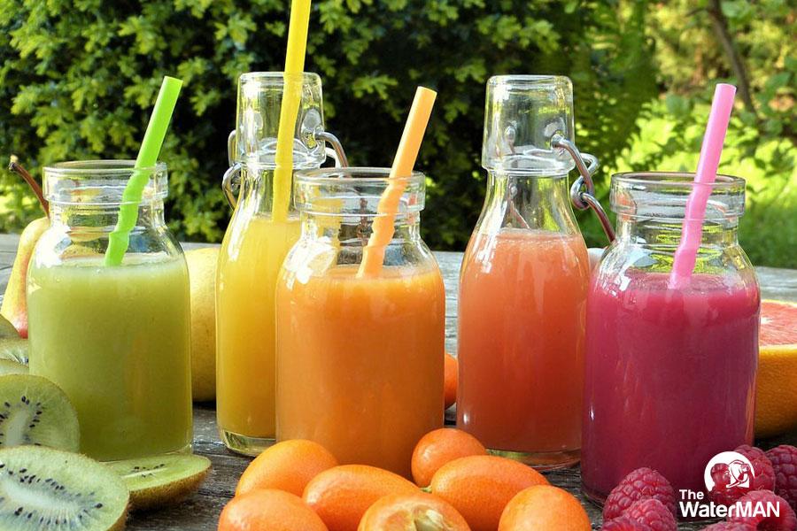 Nước ép trái cây là nguồn bổ dung vitamin, khoáng chất thiết yếu cho mẹ bầu
