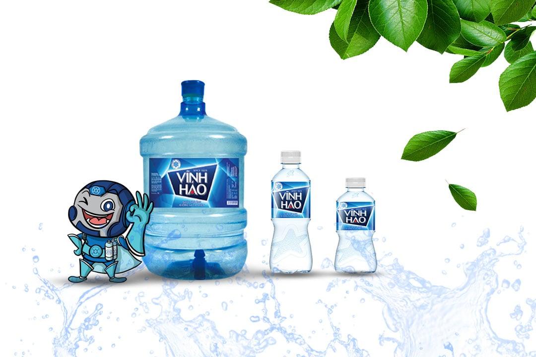 Nước đóng bình và nước đóng chai Vĩnh Hảo