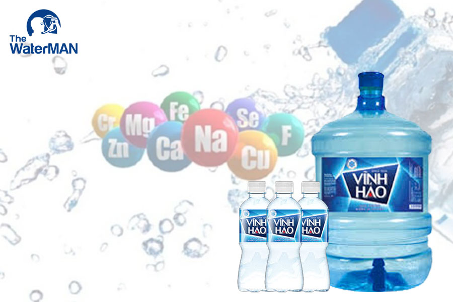 Nước khoáng Vĩnh Hảo cung cấp nguồn khoáng dồi dào, ổn định cho cơ thể