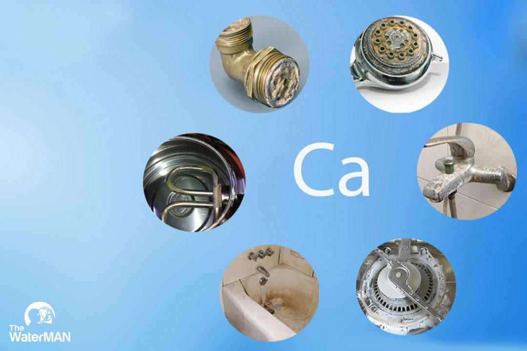 Nước nhiễm Canxi còn gọi là nước cứng, khi sử dụng nước này để nấu ăn sẽ xuất hiện cặn bẩn đáy nổi hoặc vật chứa