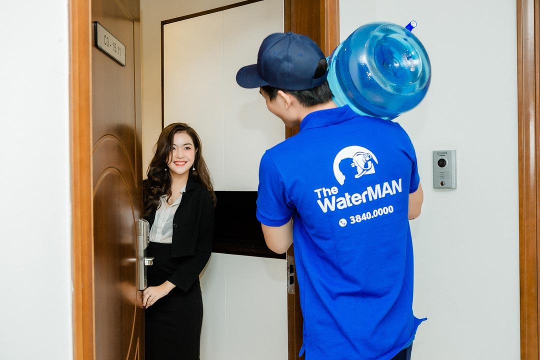 The Water MAN cung cấp giải pháp nước uống toàn diện cho các hộ gia đình
