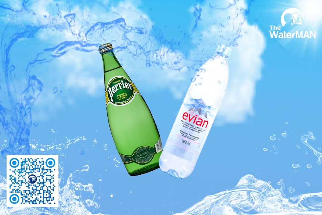 Perrier và Evian là hai dòng nước khoáng nhập khẩu bán chạy nhất tại thị trường Việt Nam