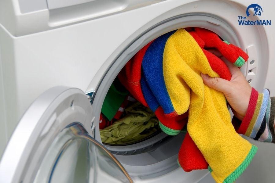 Sử dụng máy giặt tối đa giúp tiết kiệm nước, tiết kiệm điện năng