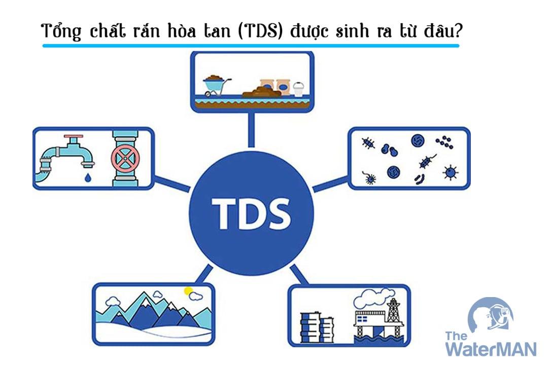 Nguồn gốc của TDS?