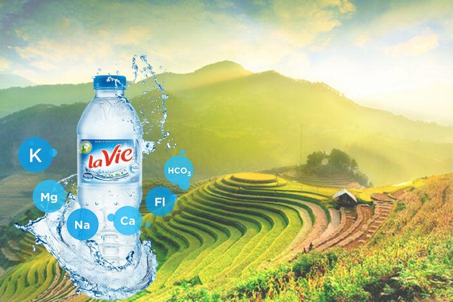 Lavie cung cấp những khoáng chất thiết yếu cho cơ thể