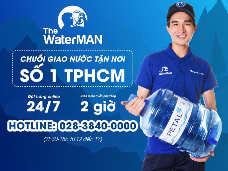 The Water MAN - Chuỗi giao nước tận nơi
