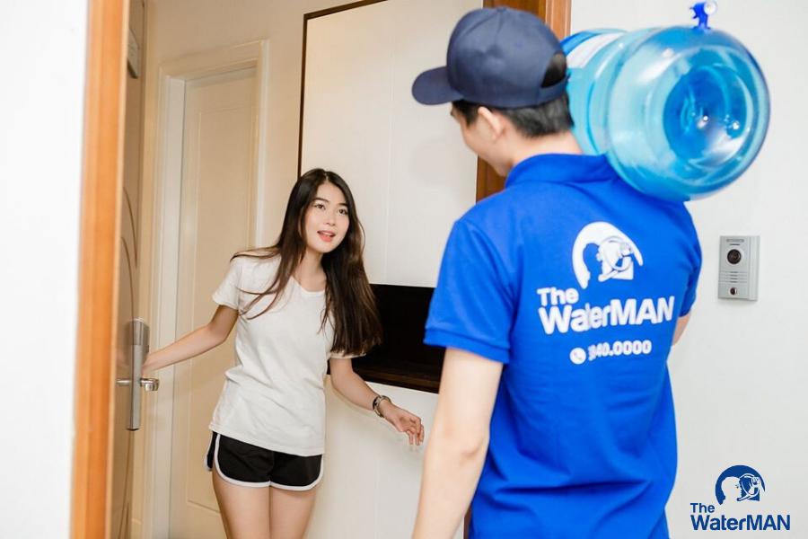 The Water Man chuỗi giao nước tận nhà huyện Cần Giờ.