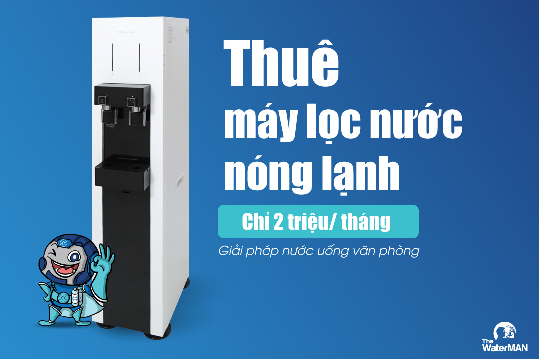 Cho thuê máy lọc nước nóng lạnh 2 triệu/ tháng
