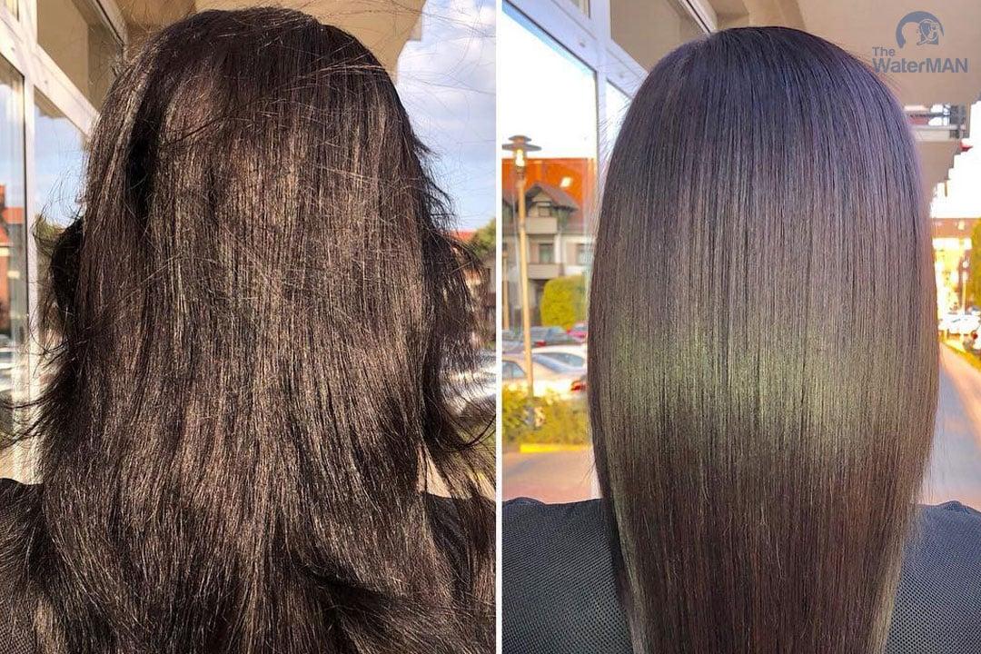 Uống nước có thể giúp tóc đẹp hơn?