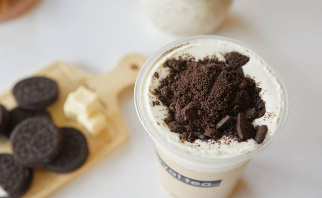 Trà sữa Oreo Cake Cream là thức uống được nhiều bạn trẻ truy lùng