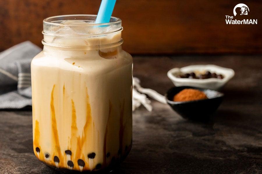 Thành phẩm đạt chuẩn phải là ly trà sữa thơm béo, ngọt dịu,