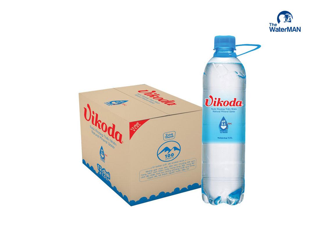Thùng nước Vikoda chai 1.5L