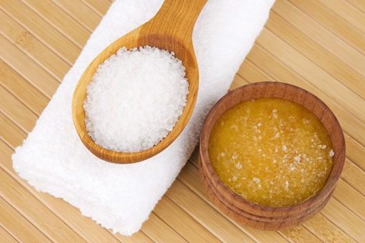 tẩy tế bào chết bằng muối