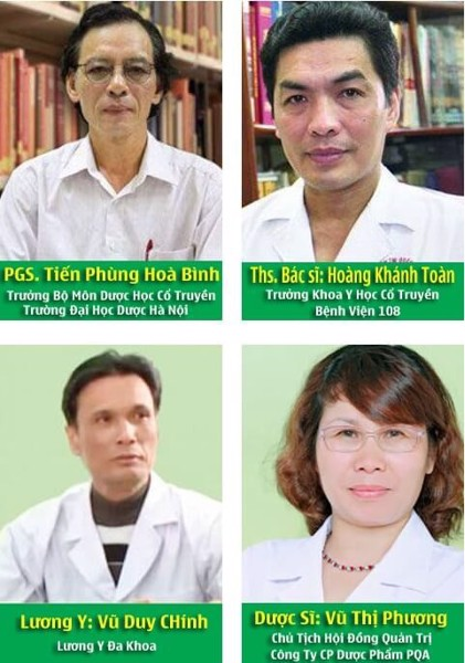 Hội đồng khoa học công ty PQA - Táo bón