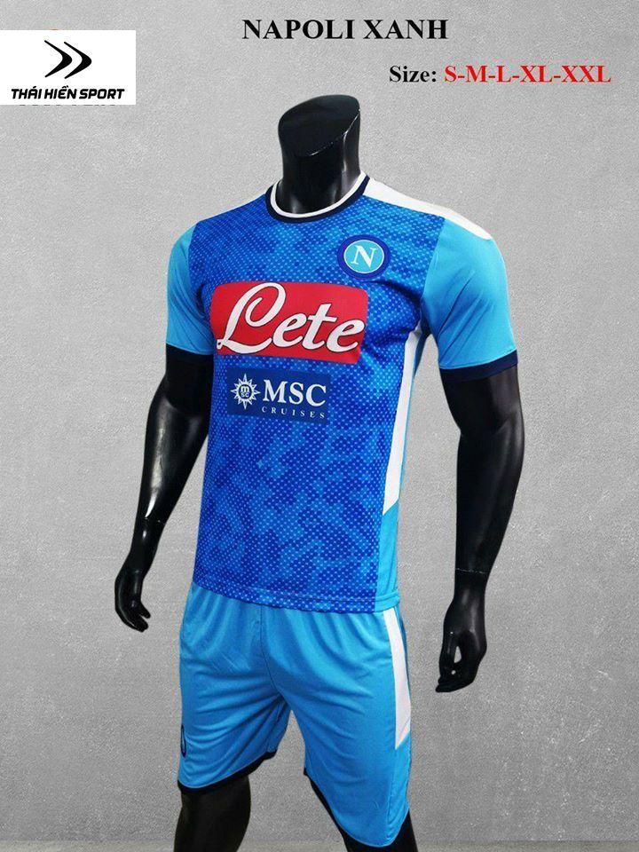 qa bóng đá Napoli xanh