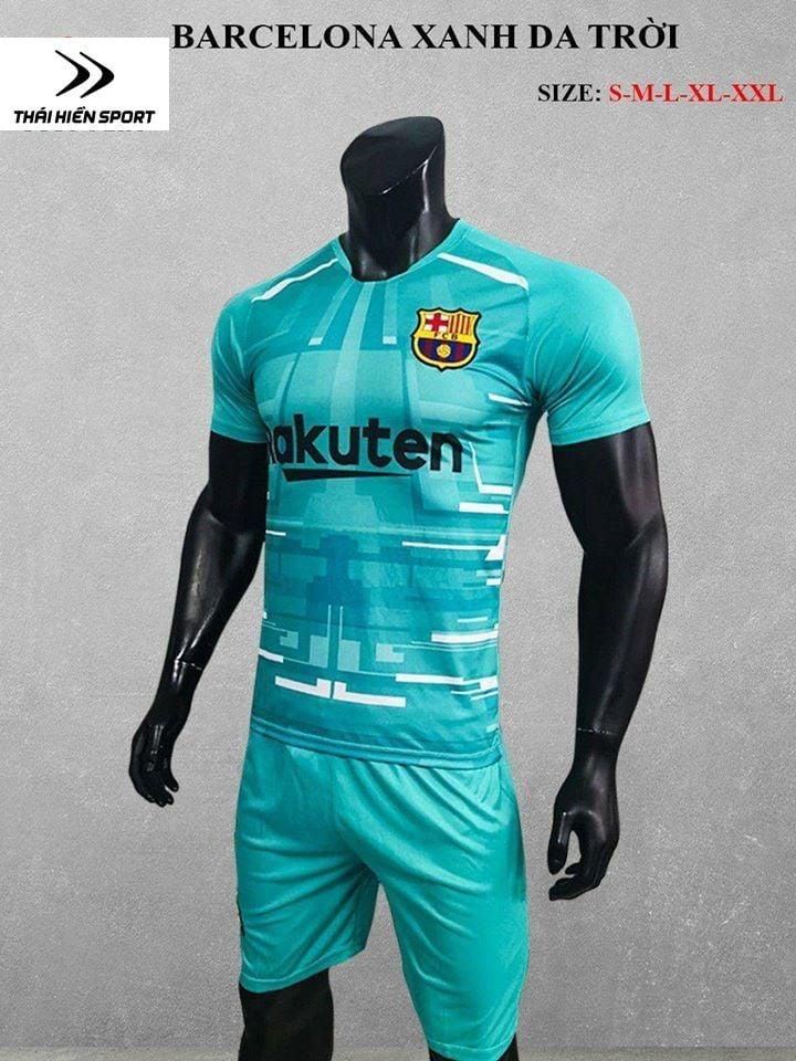 QA bóng đá Barcelona da trời