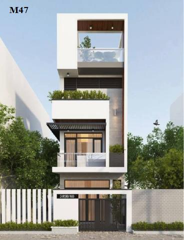 Thiết kế nhà 4 tầng