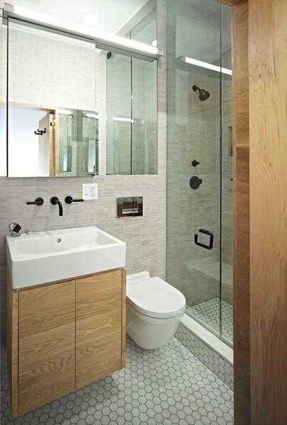 Mẹo thiết kế phòng tắm hẹp tận dụng tối ưu diện tích [New 2020]