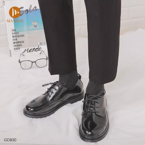 Giày nam da bóng thời trang MANDO